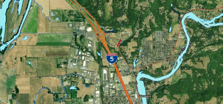 4.08 acre lot zoned Highway Commercial in Woodland, WA – SOLD