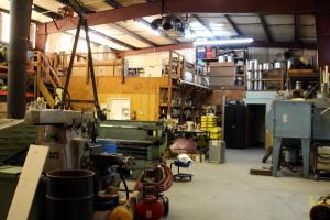 Shop - work area