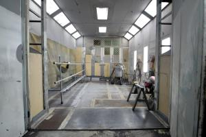 Paint/Sand Blasting  Booth Interior